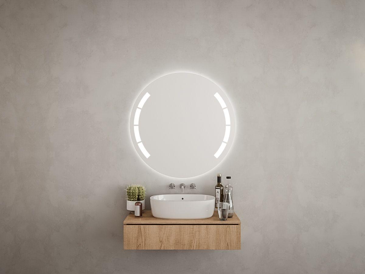 LED Badspiegel rund