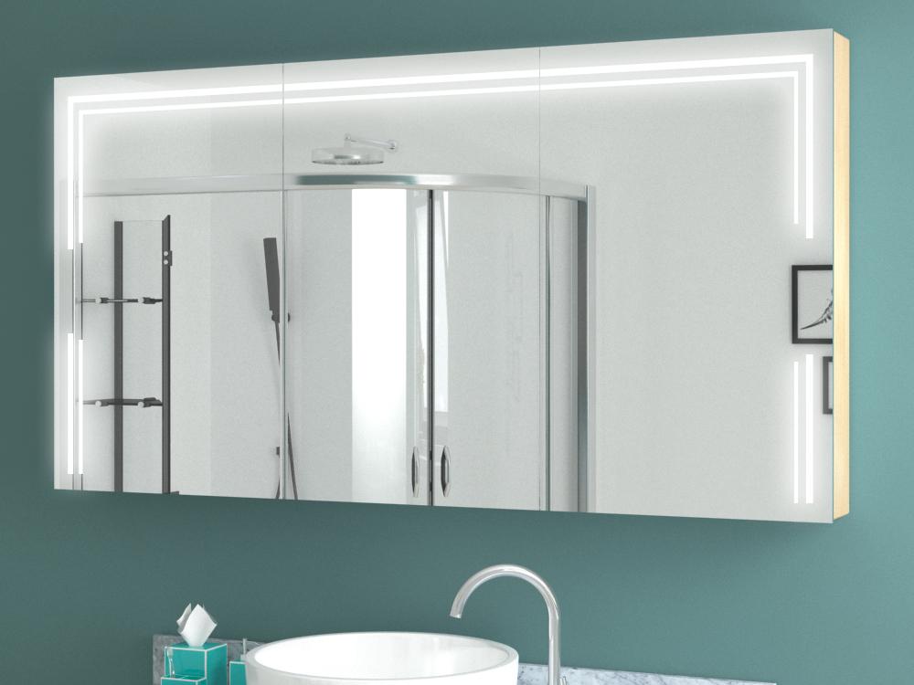 Spiegelschrank mit Beleuchtung - Riesenauswahl an LED ...