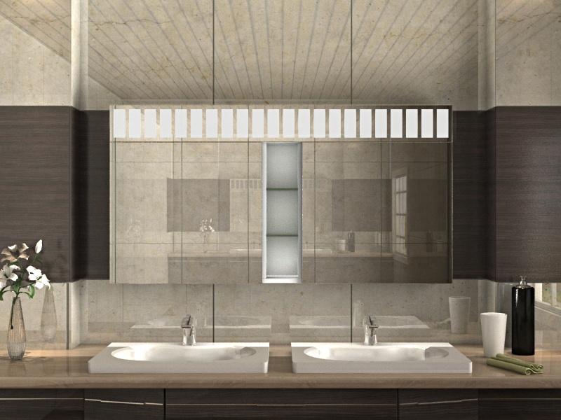 Livia – schicker Spiegelschrank fürs Bad mit Super praktischen Extras