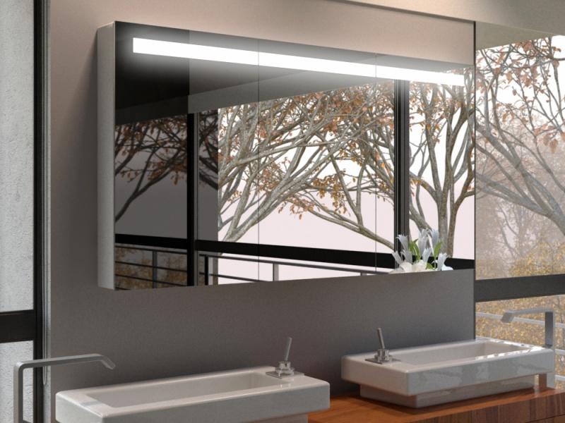 einbau spiegelschrank bad mit beleuchtung wohn design. Black Bedroom Furniture Sets. Home Design Ideas