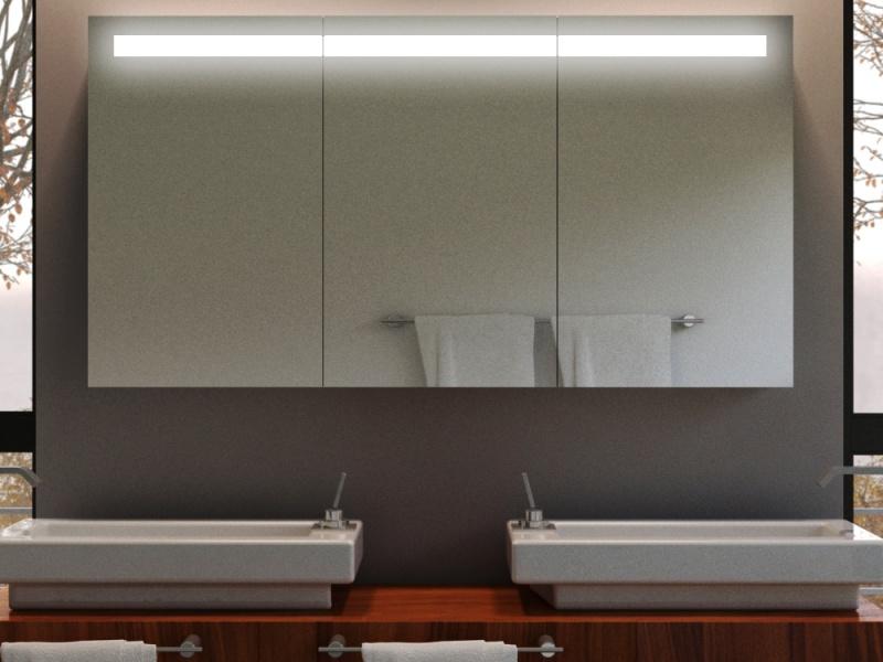 einbau spiegelschrank guilia mit beleuchtung nach ma. Black Bedroom Furniture Sets. Home Design Ideas