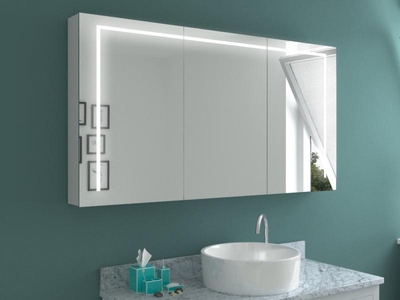 Einbau Spiegelschrank Bad mit persönlichen Extras konfigurieren