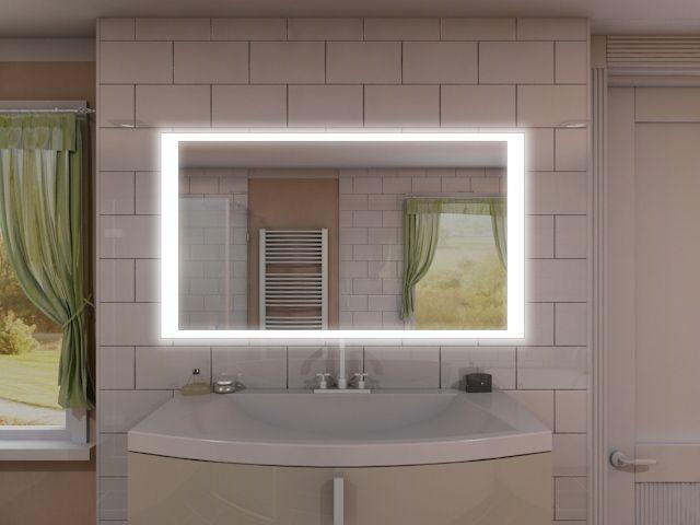 Spiegel mit Beleuchtung - Jun
