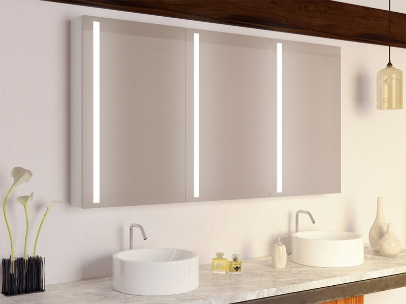 Badezimmer Spiegelschrank mit Beleuchtung, große Auswahl und günstig