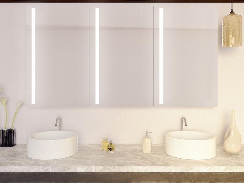 badezimmer spiegelschrank mit beleuchtung gro e auswahl und g nstig. Black Bedroom Furniture Sets. Home Design Ideas