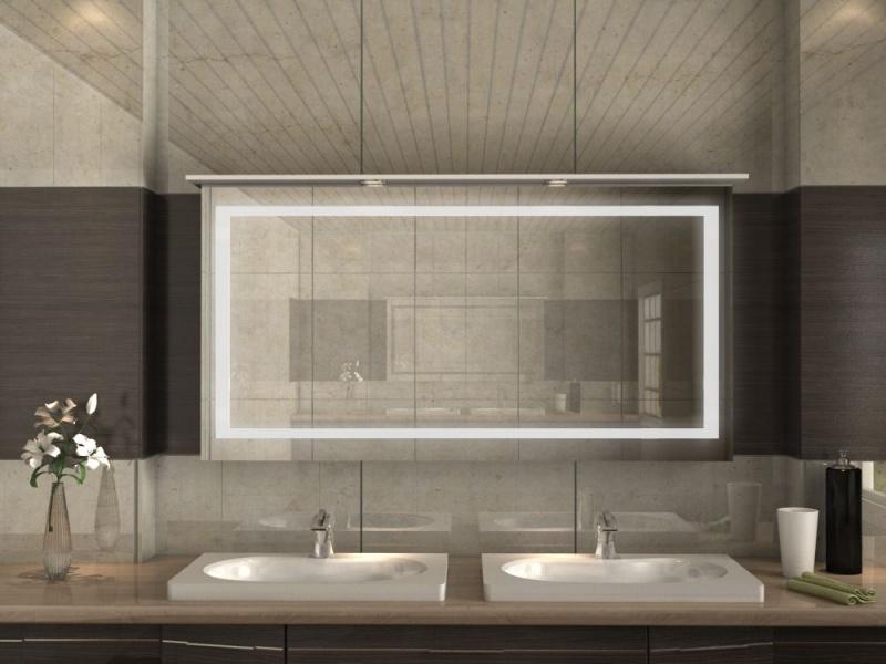 Bad Siegelschrank mit LED-Beleuchtung für mehr Behaglichkeit im Bad