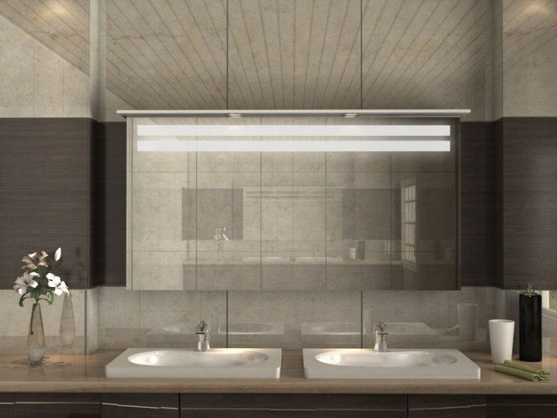 Badezimmerschrank mit Spiegel & Beleuchtung günstig online bestellen.