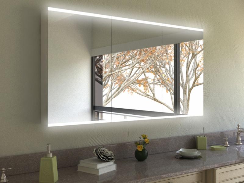 Spiegelschrank Umeko mit Designprofilen