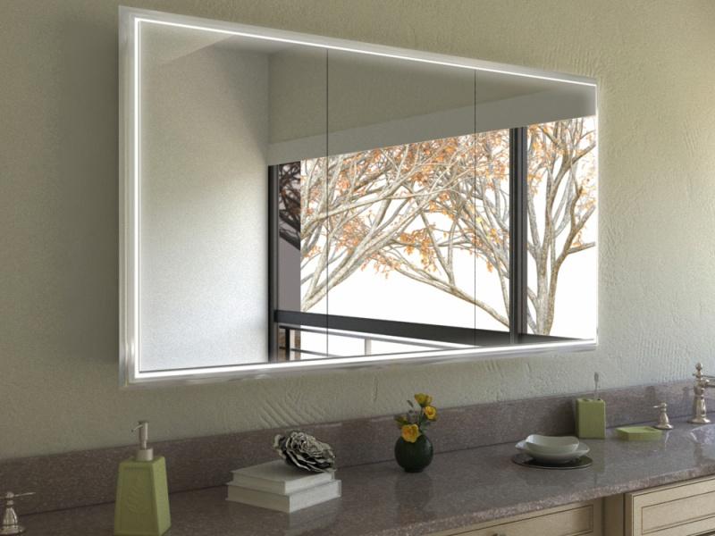 Spiegelschrank Chiara mit Leuchtprofilen