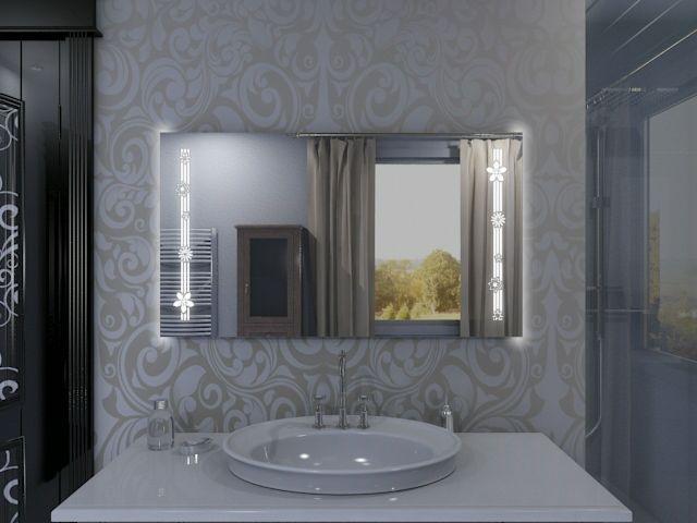 Badspiegel mit LED Beleuchtung - Rima