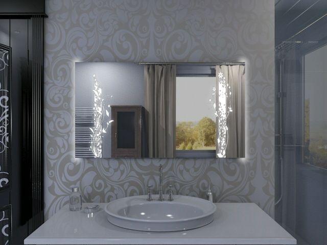 Badspiegel mit LED Beleuchtung - Inari