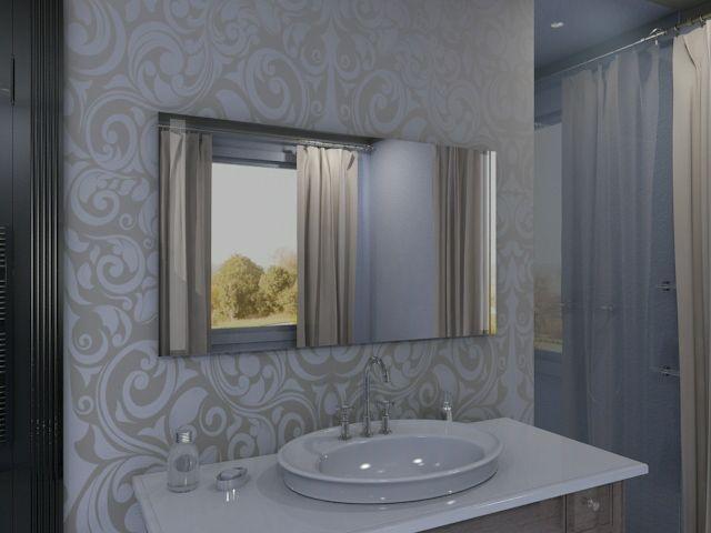eleganter badspiegel cato besticht durch modernes design. Black Bedroom Furniture Sets. Home Design Ideas