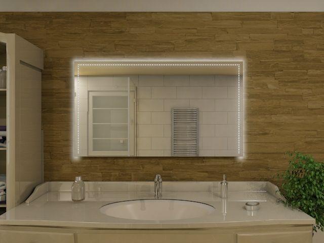 Badspiegel mit LED Beleuchtung - Yumi
