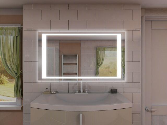 Badspiegel mit LED Beleuchtung - Nian