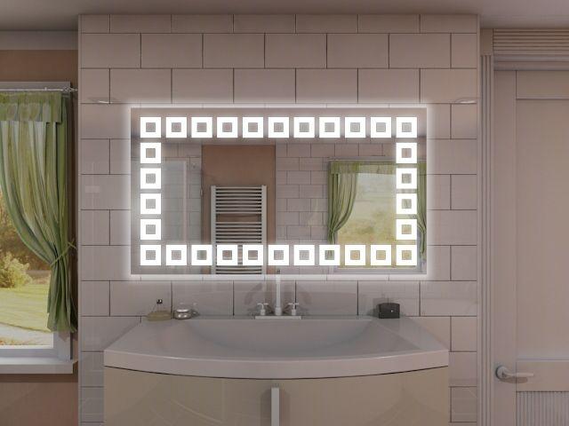 Badspiegel Mit Led Beleuchtung Keyomi