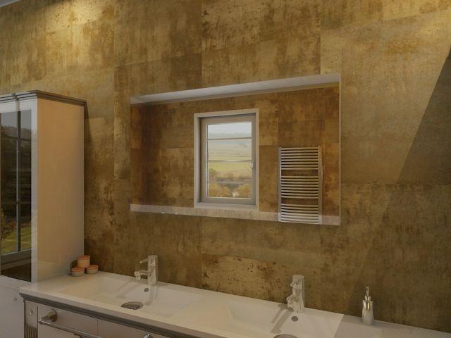 katara beleuchteter spiegel als edles designelement f r. Black Bedroom Furniture Sets. Home Design Ideas