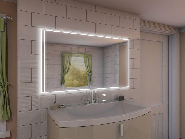 modell jojo wandspiegel mit beleuchtung edel modern. Black Bedroom Furniture Sets. Home Design Ideas