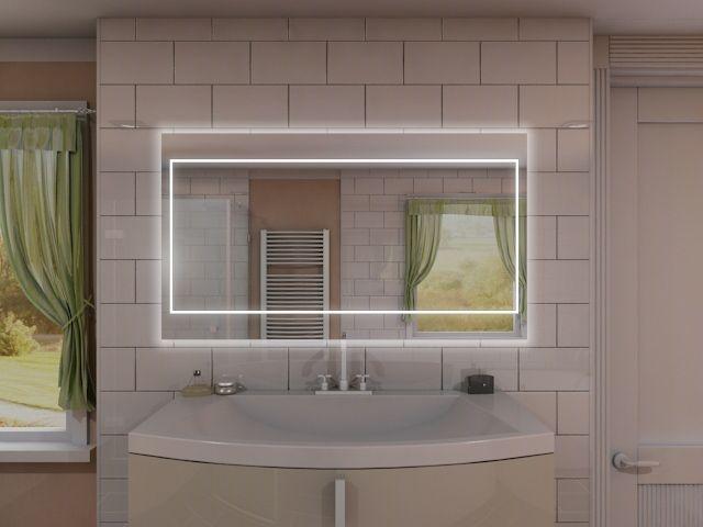 Badspiegel mit LED Beleuchtung - Lana