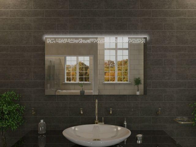 Badspiegel mit LED Beleuchtung - Lilu