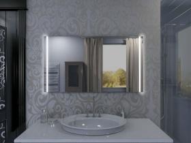 Badspiegel mit LED Beleuchtung - Madara