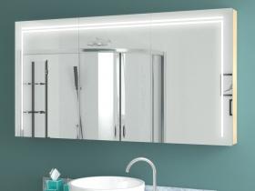 Design Spiegelschrank mit Beleuchtung Maja