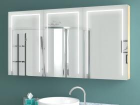 Spiegelschrank mit Licht Zelinda