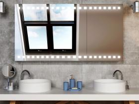 Spiegelschrank mit Licht Caithana