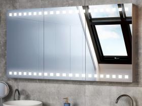 Spiegelschrank Caithana Mit Beleuchtung Und Steckdose Für Ihr Bad