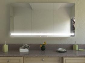 Spiegelschrank mit LED Beleuchtung Tian