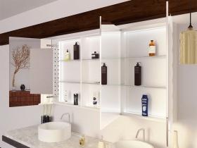Bad Spiegelschrank mit Licht Aki