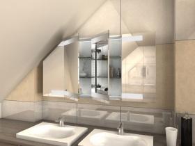 Spiegelschrank für Dachschrägen Kiro