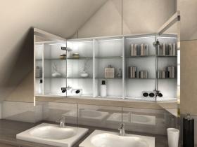 Spiegelschrank für Dachschrägen Kato