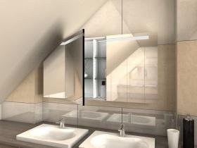 Spiegelschrank für Dachschrägen Tami