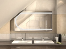 Spiegelschrank für Dachschrägen Ino