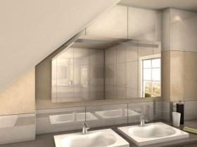 Spiegelschrank für Dachschrägen Nori