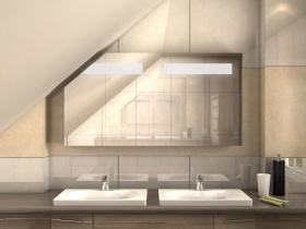 Spiegelschrank für Dachschrägen Shun