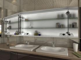Spiegelschrank mit Kranz Baki2