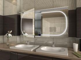 Spiegelschrank mit Kranz Sira2
