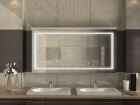 Spiegelschrank mit Beleuchtung und Steckdose Yuki2