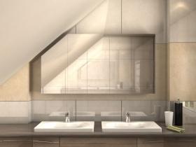 Badezimmer Spiegelschrank ohne Beleuchtung günstig online ...