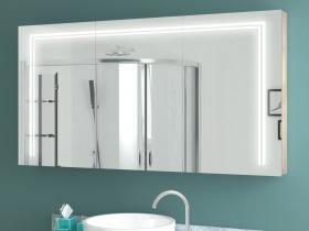 Design Spiegelschrank mit Beleuchtung Ilko