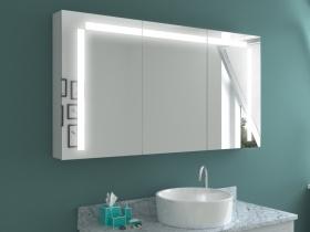 Design Spiegelschrank mit Beleuchtung Yuko