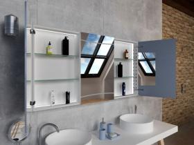 Bad Spiegelschrank Iaka