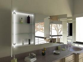 Spiegelschrank Tianyu mit Designprofilen