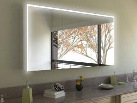 Spiegelschrank Zeng mit Designprofilen