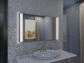 Badspiegel mit LED Beleuchtung - Nayana