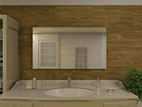 Badspiegel mit LED Beleuchtung - Mian