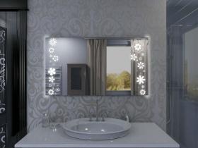Badspiegel mit LED Beleuchtung - Akuye