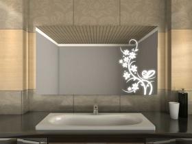 Badspiegel mit LED Beleuchtung - Jarl