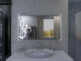 Badspiegel mit LED Beleuchtung - Rina
